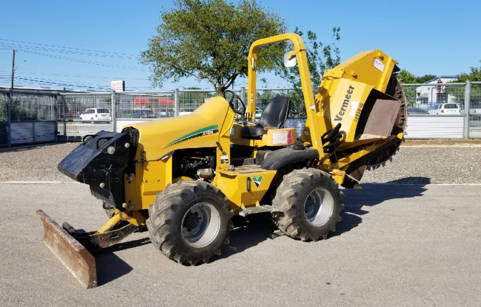 2012 Vermeer Rxt550 - Top Rock Saws For Sale   Southern