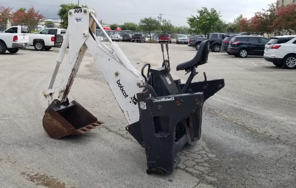 USED Bobcat 709 Backhoe - Southern Plains Equipment