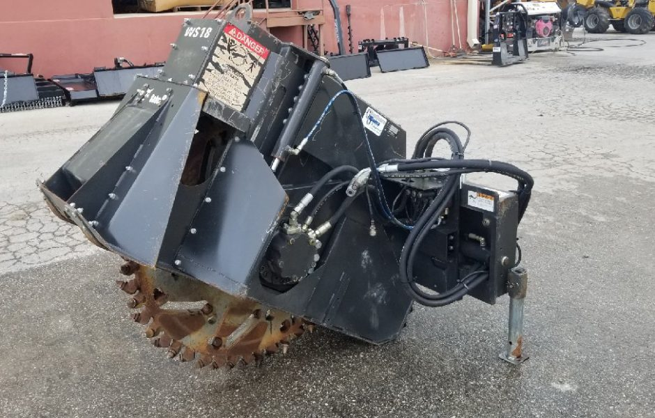 Used Bobcat Ws18 Rock Saw Southern Plains Equipment